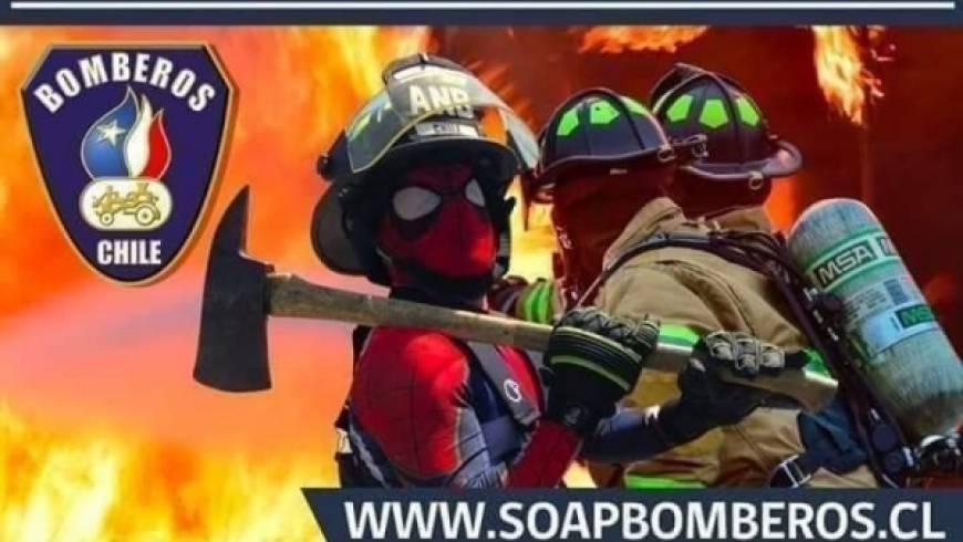 Con tu SOAP podrás ayudar a Bomberos de Chile y a la Bomba San Miguel