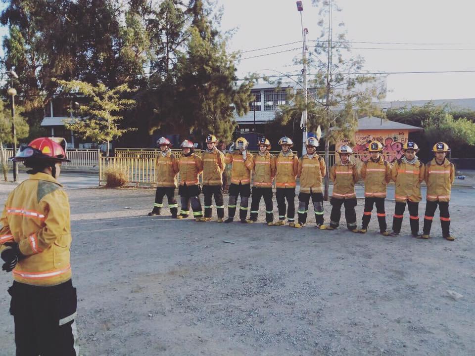 Octubre Mes Aniversario De Nuestra Querida Brigada Juvenil Conocida Como El Nido De Dragones, Semillero De Bomberos Y Bomberas