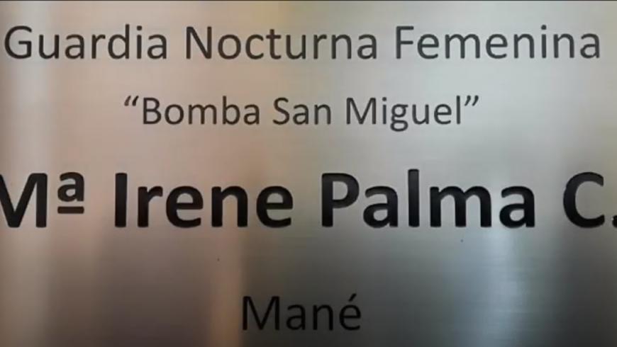 Inauguración Guardia Nocturna Femenina Bomba San Miguel